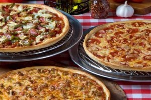 Aurelio's pizzas.