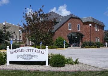 Macomb City Hall.