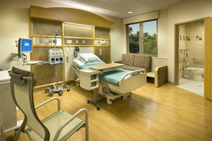 Health care facility.